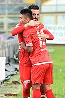 Brescia 30/09/2017 - campionato di calcio serie B / Brescia - Perugia / foto Matteo Gribaudi/Image Sport/Insidefoto<br /> nella foto: esultanza gol Kwang Song Han