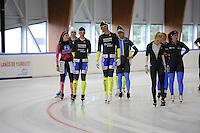 SCHAATSEN: LEEUWARDEN: 17-09-2015, Elfstedenhal, ©foto Martin de Jong