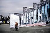 Kharkov 28.08.2010 Ukraine<br /> Kharkov prepares for the UEFA European Football Championships EURO 2012. Many problems affecting the city, lack of maintenance, lack of hotel accommodation and also problems with electricity. Stadium Metalist Kharkiv - One of the main four of Ukrainian stadiums of Euro 2012 is not modernized. Playmaker club matches at the stadium is Metalist Kharkiv.<br /> Photo: Adam Lach / Napo Images<br /> <br /> Przygotowania do otwarcia lotniska.<br /> Charkow przygotowuje sie do Mistrzostw Europy w Pilce noznej Euro 2012. Wiele problemow dotyka miasto, brak remontow, brak bazy hotelowej a ponadto problemy z elektrycznoscia.  Stadion Metalist w Charkowie - Jeden z czterech podstawowych Ukrainskich stadionow zwi?zanych z Euro 2012 nie jest modernizowany. Klubem rozgrywajacym mecze na tym stadionie jest Metalist Charkow.<br /> Fot: Adam Lach / Napo Images