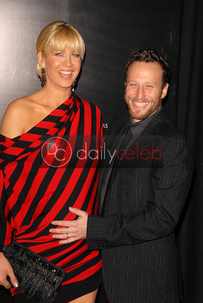 Jenna Elfman and Bodhi Elfman<br />