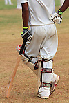 Asie, Inde du Sud, état du Maharashtra, Bombay (Mumbai), Oval Maidan, joueur de cricket//Asia, South India, Maharashtra state, Bombay (Mumbai), Oval Maidan, cricket player
