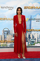 """LOS ANGELES - JUN 28:  Laura Harrier at the """"Spider-Man: Homecoming"""" at the TCL Chinese Theatre on June 28, 2017 in Los Angeles, CA"""