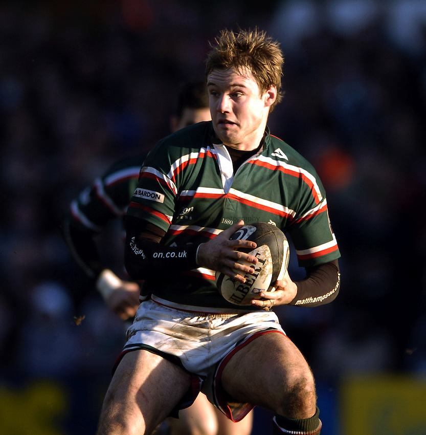 Photo: Jonathan Butler..Leicester Tigers v Argentina. The PWC Challenge Cup. 11/02/2007..Matt Cornwell of Leicester Tigers.