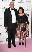 Guest &amp; Janis Winehouse at the Amy Winehouse Foundation Gala held at the Dorchester Hotel, Park Lane, London on October 5th 2017<br /> CAP/ROS<br /> &copy;ROS/Capital Pictures