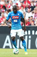 Kalidou Koulibaly Napoli<br /> Monaco 02-08-2017  Stadio Allianz Arena<br /> Football Audi Cup 2017 <br /> Bayern Monaco - Napoli<br /> Foto Cesare Purini / Insidefoto