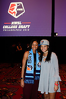 Philadelphia, PA - Thursday January 18, 2018: Imani Dorsey during the 2018 NWSL College Draft at the Pennsylvania Convention Center.
