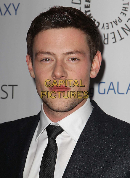 13 July 2013 - Vancouver, British Colombia, Canada - Glee star Cory Monteith was found dead Saturday in his hotel room at the Fairmont Pacific Rim Hotel in Vancouver. He was 31. The cause of death was not immediately apparent. An autopsy was set for Monday. According to police, there were no indications of foul play. They would not discuss what, if anything, was found in room. File Photo: 27 February 2013 - Beverly Hills, California - Cory Monteith. PaleyFest Icon Award 2013 Held At The Paley Center for Media. <br /> CAP/ADM/KB<br /> &copy;Kevan Brooks/AdMedia/Capital Pictures