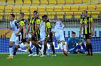 Glory's Diego Costa equalises during the A-League football match between Wellington Phoenix and Perth Glory at Westpac Stadium in Wellington, New Zealand on Saturday, 2 December 2018. Photo: Dave Lintott / lintottphoto.co.nz