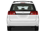 Straight rear view of a 2010 Toyota Sienna CE 8 Passenger