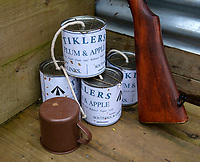 BNPS.co.uk (01202 558833)<br /> Pic: PhilYeomans/BNPS<br /> <br /> Tiklers Plum & Apple tinned food.<br /> <br /> Students of Garth Hill College in Bracknell get used to life in the trenches.<br /> <br /> Class War - A school has turned part of its playground into a replica First World War trench system that makes an fascinating and poignant living history classroom.<br /> <br /> The scaled down trenches allows pupils to get an authentic, hands-on lesson on what life and conditions were like for the unfortunate soldiers who served on the Western Front. <br /> <br /> As well as being given educational talks, students also get muddy taking part in re-enactment demonstrations in the trenches. <br /> <br /> The attention to detail includes replica rifles, bayonets, shell casings and even models of the ever present rats.<br /> <br /> The outdoor classroom is the first of its kind in the country and schools from miles around are booking up visits for their students to experience the real feel of the award winning movie 1917.