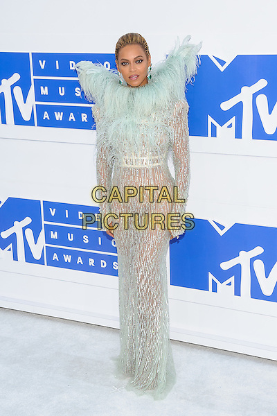 28 August 2016 - New York, New York - Beyonce Knowles.  2016 MTV Video Music Awards at Madison Square Garden. <br /> CAP/ADM/MSA<br /> &copy;MSA/ADM/Capital Pictures