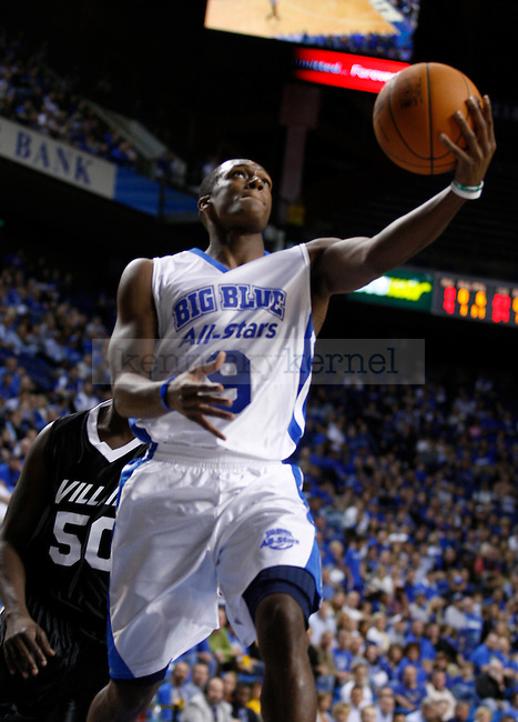 The University of Kentucky All-Stars played the Villains at Rupp Arena on Monday, Oct. 24, 2011. Photo by Latara Appleby | Staff ..