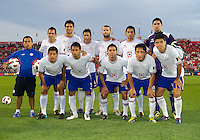 17 August 2010:  Cruz Azul starting eleven during a CONCACAF Champions League group stage game between Cruz Azul and Toronto FC at BMO Field in Toronto.....