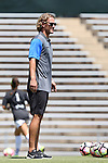 21 August 2016: Duke assistant coach Erwin van Bennekom (NED). The Duke University Blue Devils played the University of Central Florida Knights in a 2016 NCAA Division I Women's Soccer match. Duke won the game 3-1.