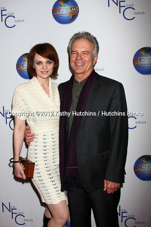 LOS ANGELES - DEC 13:  Melissa Biethan, Tony Denison arrives to the 'Saving Grace B. Jones' Premiere at ICM Screening Room on December 13, 2012 in Century CIty, CA