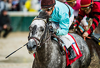 LOUISVILLE, KY - MAY 05: Bird Song #1 ridden by Julien Leparoux wins the Alysheba Stakes at Churchill Downs on May 5, 2017 in Louisville, Kentucky. (Photo by Alex Evers/Eclipse Sportswire/Getty Images)
