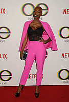 WEST HOLLYWOOD, CA - FEBRUARY 07: Obiageliaku Anusionwu attends the premiere of Netflix's 'Queer Eye' Season 1 at Pacific Design Center on February 7, 2018 in West Hollywood, California.<br /> CAP/ROT/TM<br /> &copy;TM/ROT/Capital Pictures