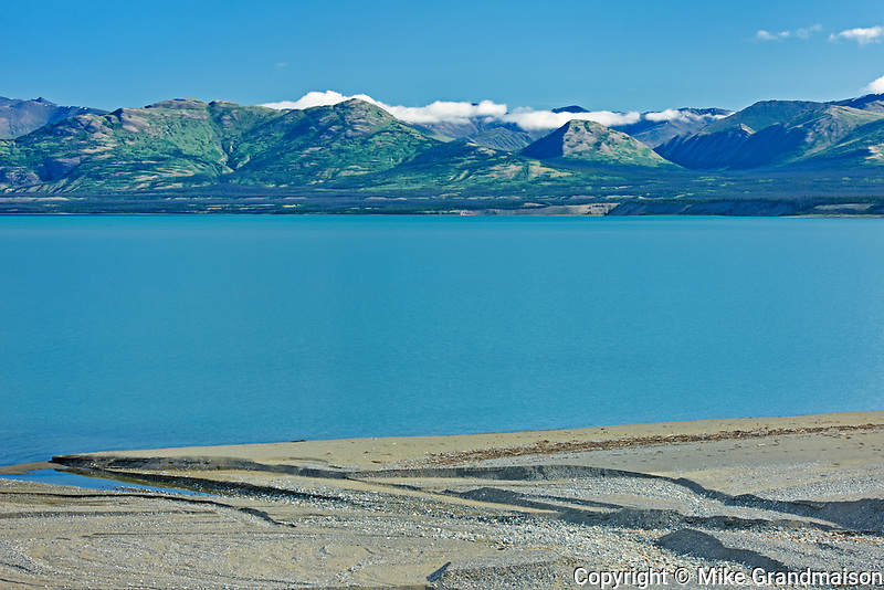 Ruby Ranges in Kluane Lake<br /> , Kluane National Park, Yukon, Canada