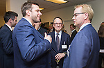 BRUSSELS - BELGIUM - 28 November 2016 -- Inauguration of the Nordic Energy Office. -- Olaf Ulsteth, CEO of Energy Norway and Anders Stouge, Dansk Energi with guest. -- PHOTO: Juha ROININEN / EUP-IMAGES