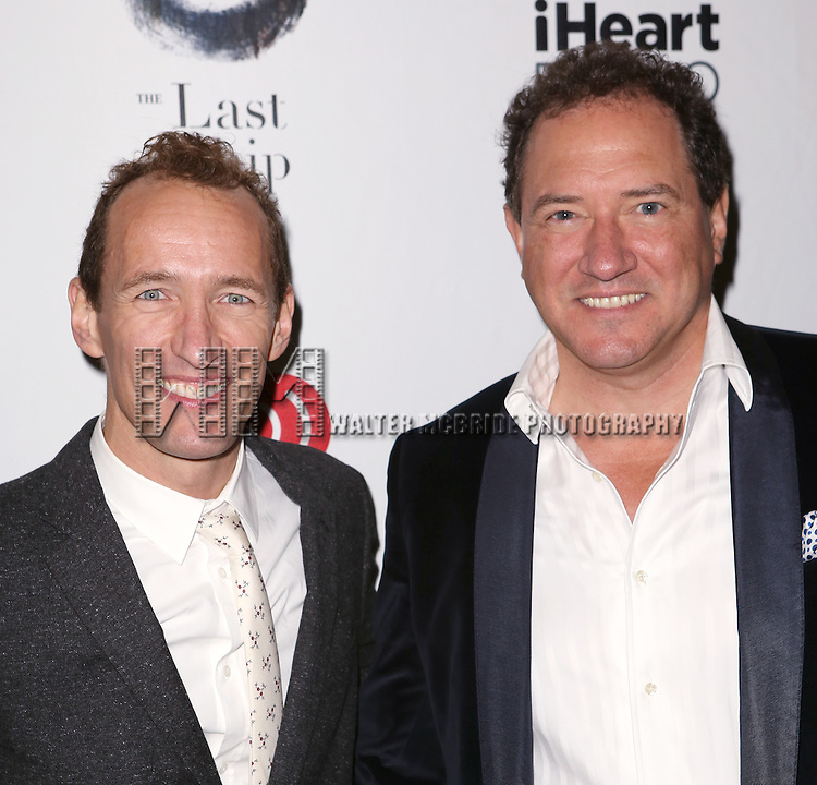 Jeffrey Seller and Kevin McCollum attends the Broadway Opening Night performance of 'The Last Ship' at the Neil Simon Theatre on October 26, 2014 in New York City.