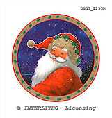 GIORDANO, CHRISTMAS SANTA, SNOWMAN, WEIHNACHTSMÄNNER, SCHNEEMÄNNER, PAPÁ NOEL, MUÑECOS DE NIEVE, paintings+++++,USGI2293R,#X#