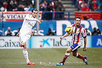 Real Madrid´s welsh forward Gareth Bale and Atletico de Madrid´s spanish Jorge Resurreccion Koke