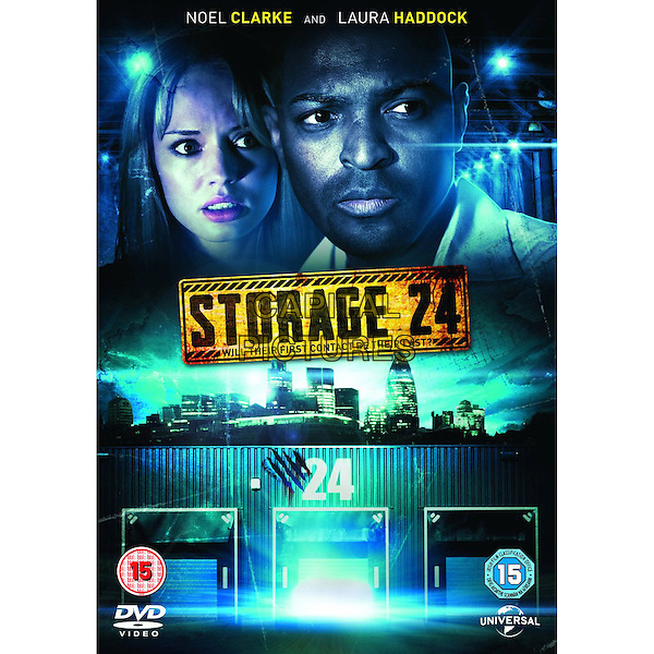 BRITISH DVD COVER ART.in Storage 24 (2012) .*Filmstill - Editorial Use Only*.CAP/FB.Supplied by Capital Pictures.