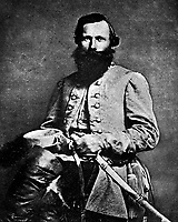 """Gen. """"Jeb"""" Stuart, C.S.A., 1863.  George S. Cook. (National Archives)<br /> Exact Date Shot Unknown<br /> NARA FILE #:  064-M-9<br /> WAR & CONFLICT BOOK #:  134"""