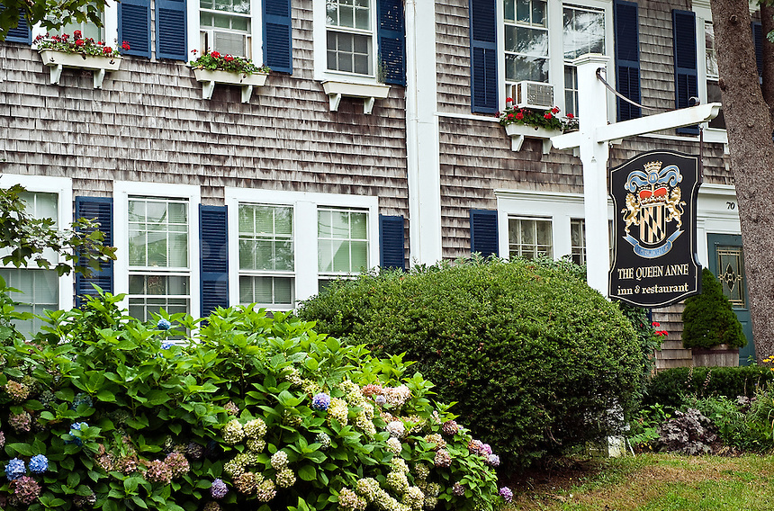 The Queen Anne, Inn and Restaurant, Chatham, Cape Cod, MA, USA