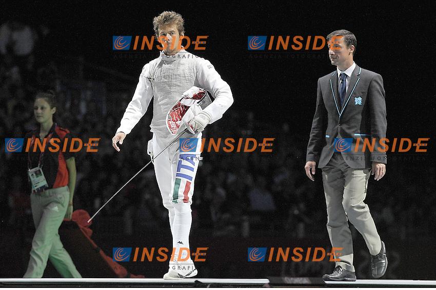Andrea Baldini .Londra 31/7/2012 .Olympic Games London 2012.Olimpiadi Londra 2012.Foto Giovanni Minozzi / Insidefoto