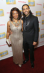 Steven 'HeaveN' Cantor and mom attends the Broadway Opening Night Performance Press Reception for  'In Transit' at Circle in the Square Theatre on December 11, 2016 in New York City.