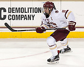 Chris Calnan (BC - 11) - The Boston College Eagles defeated the University of Vermont Catamounts 7-4 on Saturday, March 11, 2017, at Kelley Rink to sweep their Hockey East quarterfinal series.The Boston College Eagles defeated the University of Vermont Catamounts 7-4 on Saturday, March 11, 2017, at Kelley Rink to sweep their Hockey East quarterfinal series.