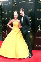 PASADENA - APR 29: Kelly Pickler, Ben Aaron at the 45th Daytime Emmy Awards Gala at the Pasadena Civic Center on April 29, 2018 in Pasadena, California