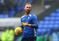 Bolton Wanderers' Ben Alnwick warming up before the match against Fulham<br /> <br /> Photographer Leila Coker/CameraSport<br /> <br /> The EFL Sky Bet Championship - Bolton Wanderers v Fulham - Saturday 10th February 2018 - Macron Stadium - Bolton<br /> <br /> World Copyright &copy; 2018 CameraSport. All rights reserved. 43 Linden Ave. Countesthorpe. Leicester. England. LE8 5PG - Tel: +44 (0) 116 277 4147 - admin@camerasport.com - www.camerasport.comBolton Wanderers'  <br /> <br /> Photographer Leila Coker/CameraSport<br /> <br /> The EFL Sky Bet Championship - Bolton Wanderers v Fulham - Saturday 10th February 2018 - Macron Stadium - Bolton<br /> <br /> World Copyright &copy; 2018 CameraSport. All rights reserved. 43 Linden Ave. Countesthorpe. Leicester. England. LE8 5PG - Tel: +44 (0) 116 277 4147 - admin@camerasport.com - www.camerasport.com