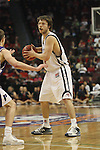 LAS VEGAS, NV - MARCH 7:  Matthew Dellavedova during the Saint Mary's Gaels 69-55 win over the Portland Pilots in the WCC Basketball Tournament on March 7, 2010 at Orleans Arena in Las Vegas Nevada.