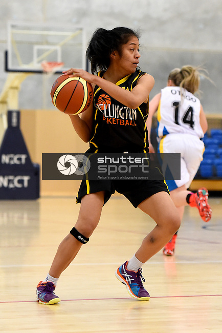 NELSON, NEW ZEALAND - July 16: 2015 U19 Basketball Tournament played at Saxton Stadium on July 16, 2015 in Nelson, New Zealand. (Photo by: Chris Symes Shuttersport Limited)