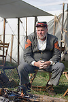 Civil War renactors recreate the Battle of Berryville, which took place 1/2 mile east of Berryville, Virginia on September 3-4, 1864 between Federal and Confederate soldiers. Leading 2400 soldiers, the Federals were strongly outnumbered, pitted against General Kershaw's Confederate division of 3,500.  Federal casualties were more than double Confederate casualties..This annual renactment took place on the Cedar Creek Battlefield in Middletown, Virginia on October 18, 2008.