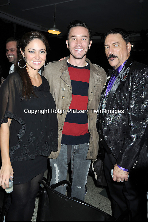 "Jessica Leccia, Tom Pelphrey and Gary Cosgrove attend The ""Daytime Meets Nighttime"" hosted by .The Imperial Court of New York on November 4, 2011 at .The Jan Hus Theatre in New York City. The benefit was for The Jan Hus Theatre and Lifebeat."