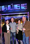 Thais Guerra, Terry O'Connor, Jana Durilova and Brian Hanrahan, Killarney pictured at the launch of the KUBE Ice & Garage Bar in  the Killarney Towers Hotel at the weekend were<br /> Picture by Don MacMonagle <br /> <br /> <br /> free pr pic from killarney towers hotel