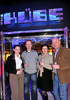 Thais Guerra, Terry O'Connor, Jana Durilova and Brian Hanrahan, Killarney pictured at the launch of the KUBE Ice &amp; Garage Bar in  the Killarney Towers Hotel at the weekend were<br /> Picture by Don MacMonagle <br /> <br /> <br /> free pr pic from killarney towers hotel