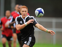 110202 IRB Rugby Sevens Training - New Zealand v Cook Islands
