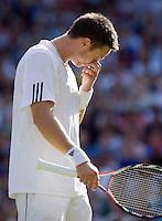 25-6-08, England, Wimbledon, Tennis,  Robin Soderling