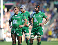 28/05/2016;Guinness Pro12 Final<br /> Connacht&rsquo;s Finlay Bealham, Ultan Dillane and Aly Muldowney.<br /> Photo Credit: actionshots.ie/Tommy Grealy