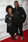 "EDITORIAL DIRECTOR OF World Bride Magazine MYRDITH LEON-MCCORMACK AND TED GIBSON AT RENOWNED HAIR STYLIST TO THE STARS TED GIBSON HOSTS 50TH BIRTHDAY EVENT WITH THE HELP OF ""GIBSON GIRLS"" ACTRESSES ASHLEY GREEN, KATE WALSH AND DEBRA MESSING HELD AT THE KNICKERBOCKER ROOFTOP"