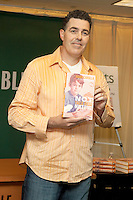 Adam Carolla signs copies of his new book, 'Not Taco Bell Material' at Barnes & Noble in New York City.  June 12, 2012. © Laura Trevino/MediaPunch Inc. NORTEPHOTO.COM