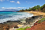View of Little Beach, Makena State Park, Maui