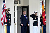 United States President Donald J. Trump welcomes President of the Government or Prime Minister Mariano Rajoy of Spain to the White House in Washington, DC on Tuesday, September 26, 2017.<br /> Credit: Ron Sachs / CNP
