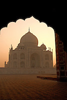 It is hard to think of a more famous and recognizable structure in the world than the Taj Mahal. It rises up on a marble platform with a mosque to the tomb's west and an assembly hall to its east. On each facade is a Valted arch, known as a pishtaq.