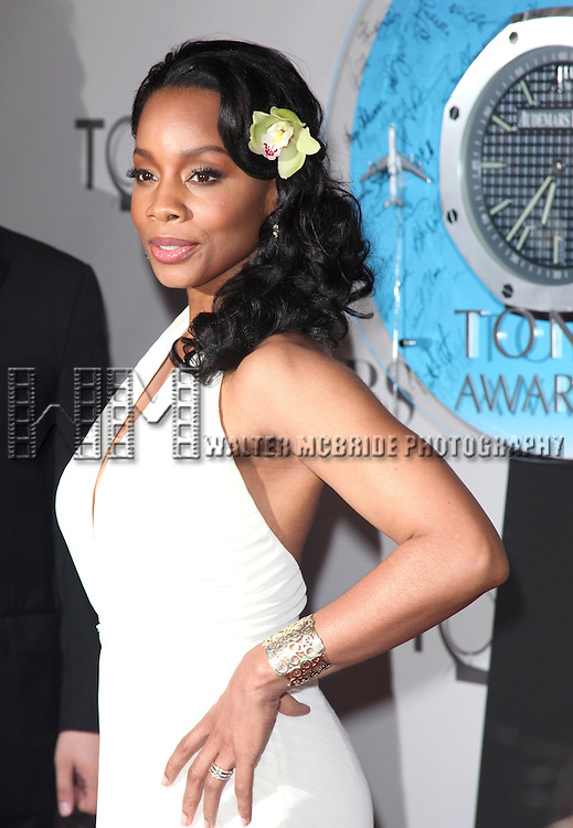 Anika Noni Rose<br /> attending The 65th Annual Tony Awards in New York City.