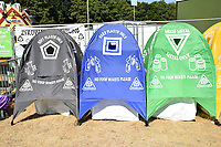 Latitude Festival, Henham Park, Suffolk, UK July 2018. Recycling in one of the camping areas